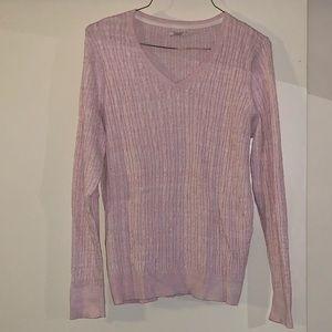 Pink SONOMA LIFESTYLE sweater. Size: XL